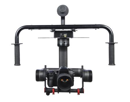 Photo Higher公司的Halo 2000機型為三軸攝影機穩定器,以100% 碳纖維製成。採用maxon馬達和伺服控制系統提供穩定器所需動力。 圖片 © Photo Higher